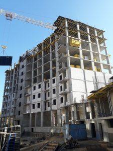 Строительство 9-го этажа